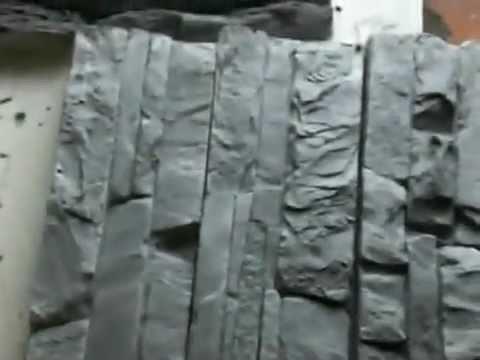 Revestimientos simil piedra videos videos relacionados con revestimientos simil piedra - Moldes piedra artificial ...