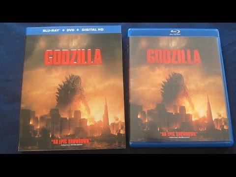 Godzilla (2014) Blu-Ray Unboxing Review