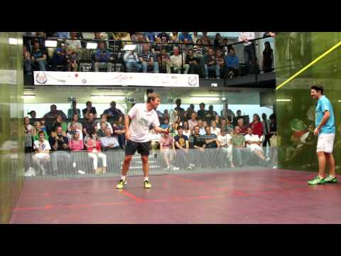 Legends of Squash 2012 – Power v Nicol 1