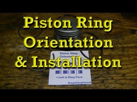 Piston Ring Orientation & Installation Tips