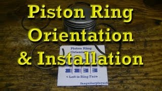 5. Piston Ring Orientation & Installation Tips