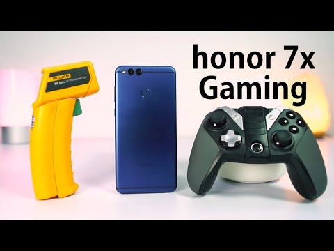 Honor 7x Gaming Review. Heat Test and Benchmark scores