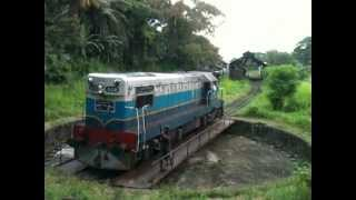 Badulla Sri Lanka  city photo : Train Round House, End of Upcountry railway line - Badulla, Sri Lanka