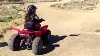 5. Roxanne & Bri New 2016 Honda TRX 90