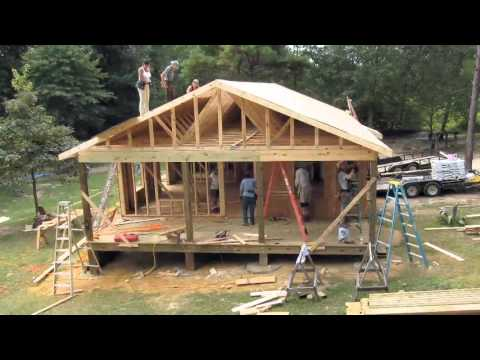 Hurricane Katrina House Build – Timelapse of Construction