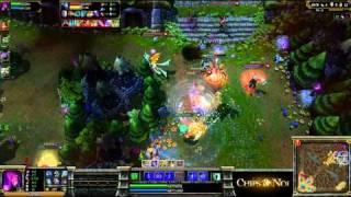 (HD048) 5c5 Morgana solo queue Top ELO EU - part 4 - League Of Legend Replay [FR]
