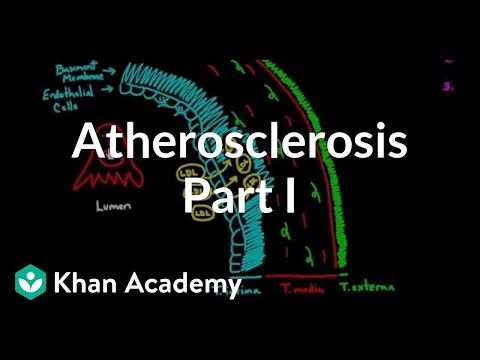 Atherosclerosis - part 1 | Circulatory system diseases | Health & Medicine | Khan Academy