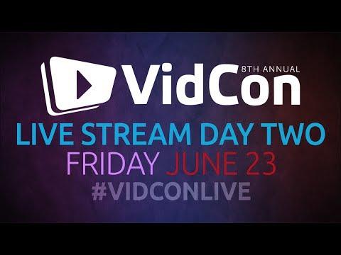 #VidConLive 2017 - Day 2 (видео)