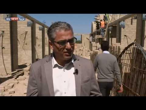 العرب اليوم - شاهد: غزة أول سوق شعبي مبني من الطين