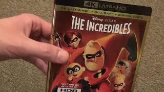 Disney/Pixar The Incredibles 4K Ultra HD Blu-Ray Unboxing