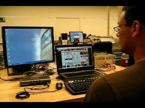 Hands-Free KVM Switch: keyboard video mouse switch