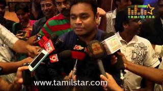 A  R  Rahman at O Kadhal Kanmani Audio Success Meet