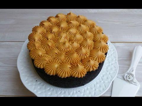 torta fredda senza cottura al caramello