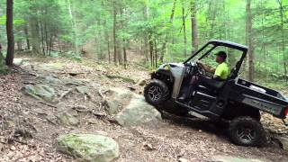 6. 2015 Polaris Ranger 570 on first little rock crawl