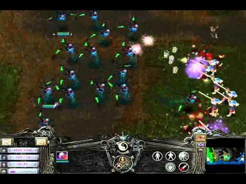 Battle Realms - 20 Master Warlocks vs 20 Muskeeter with Sniper