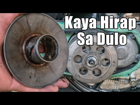 How To Replace Torque Drive Secondary Sliding Sheave Mio Sporty | Miojetski