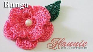 Crochet || Tutorial Bunga Rajut - Flower Crochet || 001