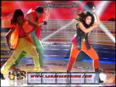sgl - Sarah Geronimo delivers another unmatched high-energy kick-ass performance in this Backstreet Boys/ 'Nsync mashup for the show's opening number 22 April 2012...