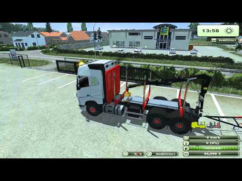 Volvo FH16 2012 Wood with Trailer v1.0