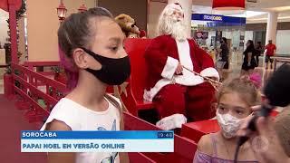 Shoppings criam estratégias para interação com Papai Noel