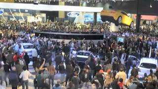 Once again. The Flying Camaro at the 2011 Buenos Aires Motor Show. Chevrolet won the press award for the best stand at this exhibition. The flying car was the main attraction of the show. http://www.gearfactor.com.hk