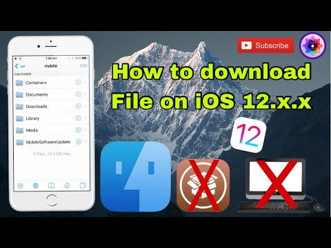 How To Download Ifile On Ios 12.x.x No Jailbreak No Computer 100%