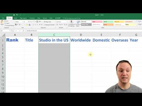Best Learn Excel 2018 ! Microsoft Excel   2018 Beginners Tutorial