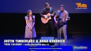 Justin Timberlake and Anna Kendrick -