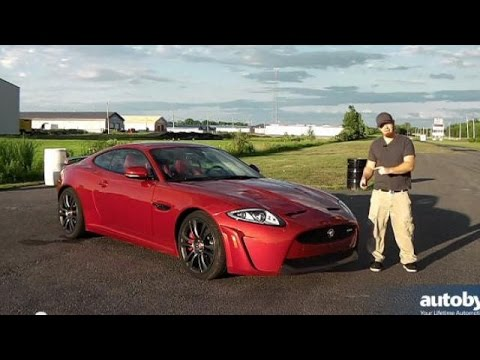 2015 Jaguar XKR-S Quarter Mile Drag Race Video