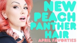 NEW Peach Panther Hair & April Favorites by Kandee Johnson