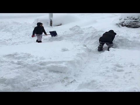 Χιόνι – ρεκόρ στην Πενσυλβάνια
