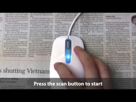 Zcan+ Scanner Mouse Scan To Text Live Demo