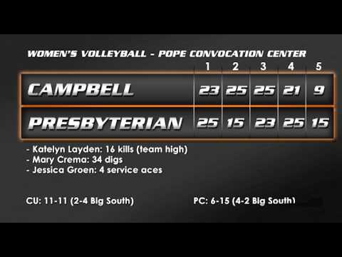 Volleyball vs. Presbyterian - 10-18-13