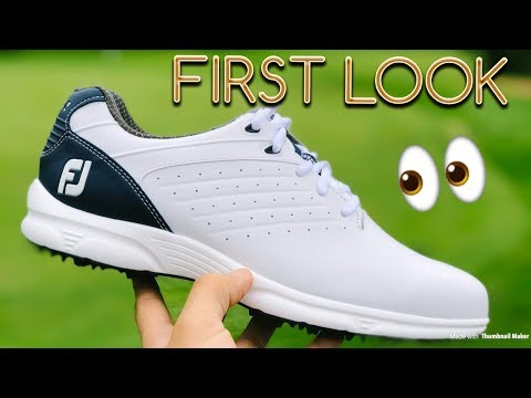 FootJoy Arc SL Golf Shoes! New for 2018 | First Look