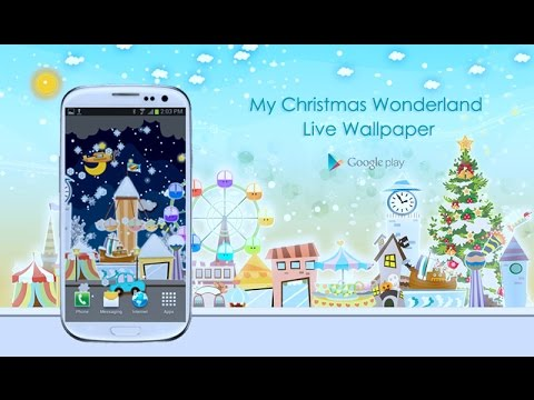 Video of My Christmas Wonderland LWP