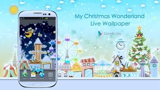 My Christmas Wonderland LWP YouTube video
