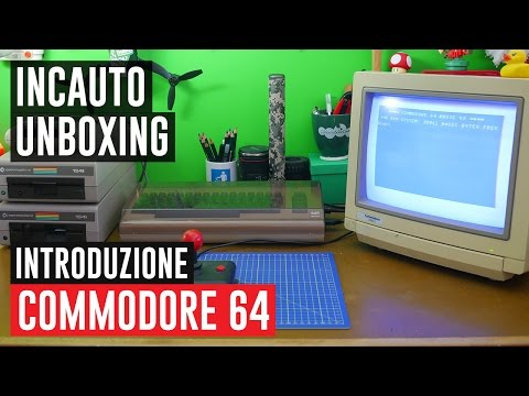Commodore 64: Introduzione e primi passi, in Italiano! #IncautoUnboxing
