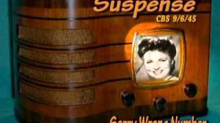 "Video Suspense ""Sorry Wrong Number "" Agnes Moorehead CBS 9/6/45  Radio Mystery Drama MP3, 3GP, MP4, WEBM, AVI, FLV Juli 2018"
