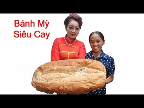 Bà Tân Vlog - Làm Chiếc Bánh Mỳ Siêu Cay Khổng Lồ Trên Trường Quay VTV - Thời lượng: 8:16.