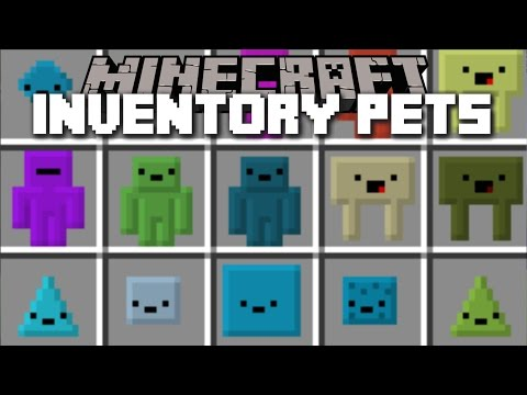 Minecraft INVENTORY PETS MOD / HUNDREDS OF DIFFERENT PETS FOR YOUR TO PLAY WITH!! Minecraft