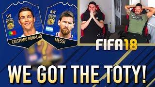 Video WE GOT THE FIFA 18 TEAM OF THE YEAR! MP3, 3GP, MP4, WEBM, AVI, FLV Februari 2019