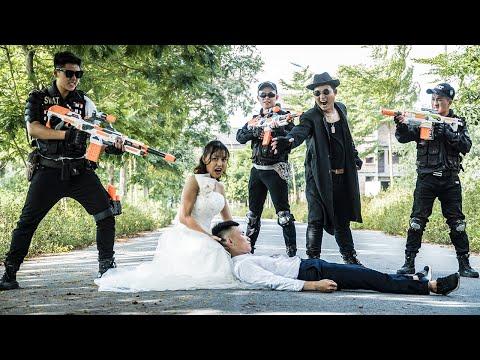 LTT Nerf War : The Expendables SEAL X Warriors Nerf Guns Fight Dr.Lee Crazy Bride Revenge
