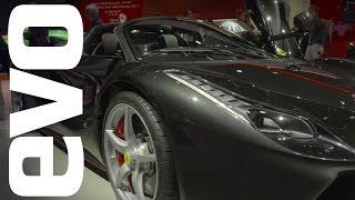 Ferrari LaFerrari Aperta in-detail at the 2016 Paris motor show   evo MOTOR SHOWS by EVO Magazine