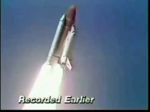 On this day in 1986, the Challenger shuttle exploded just 73 seconds after launch. This is live CNN coverage of the launch and explosion.