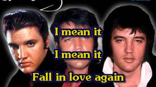 Elvis Presley   I'll Never Fall In Love Again