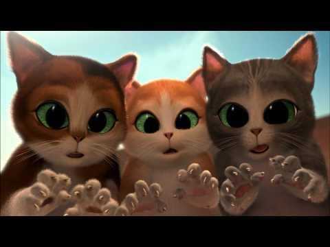 Puss in Boots vs Three Diablos cuteness eye battle scene FullHD 1080p.mkv