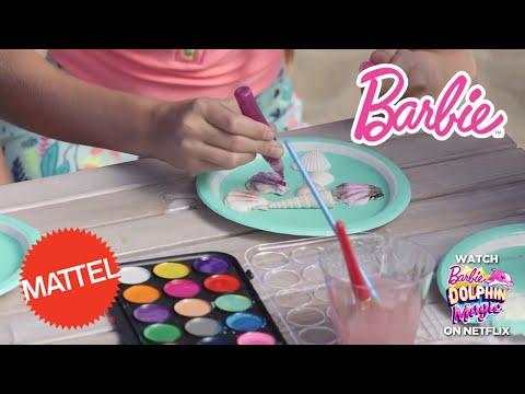 Dolphin Magic: DIY Friendship Necklaces| Barbie | Mattel