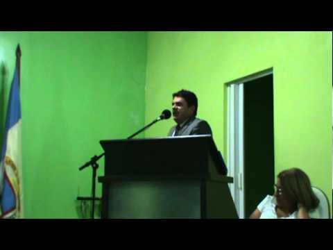 Discurso do vereador Pádua Leite na Câmara Municipal de Piancó