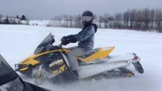 10. Messing with ski-doo renegade 1200