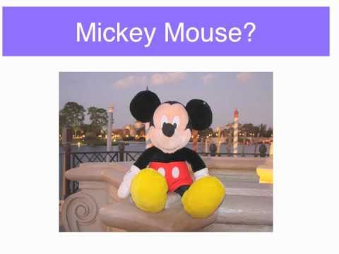 Orlando Vacation Game Where in the World is Mickey Mouse